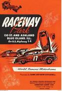 Stock Car Race Poster