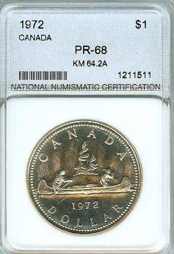 Canadian Silver Dollar 1972 Ebay