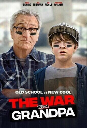 The War With Grandpa (DVD,2020) >>>NEW<<<