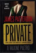 James Patterson Private #1
