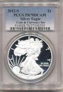2012 Silver Eagle Proof PCGS