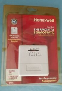 Honeywell Home Non Programmable Thermostat CT30A