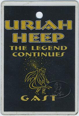 URIAH HEEP 2000 Tour Laminated Backstage Pass Hamburg Mick Box
