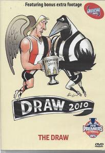 AFL GRAND FINAL DRAW 2010 DVD BRAND NEW SEALED COLLINGWOOD ST KILDA FREE POST!