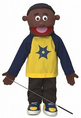 Silly Puppets Jordan (African American) 25 inch Full Body Puppet