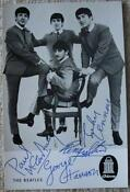 The Beatles Original Autographs