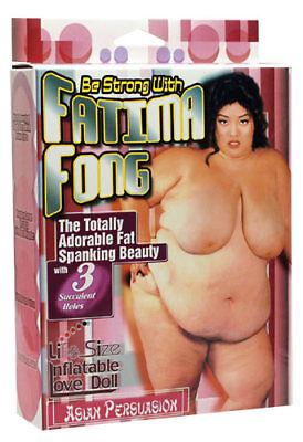 Aufblasbare Fatima Fong Dick Asia Gummipuppe Liebespuppe Scherzartikel Puppe