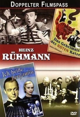 2 Filme: Ich heiße Benjamin & Das Geheimnis der roten Katze mit Heinz Rühmann