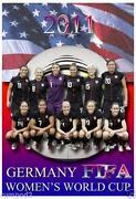 Womens Soccer Poster