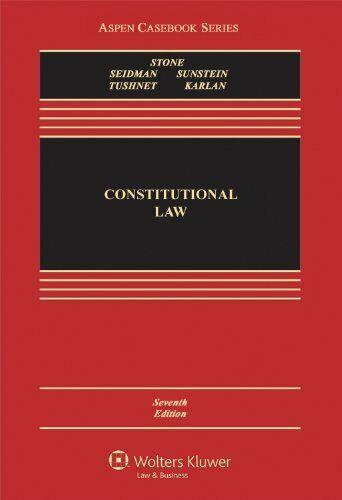 Constitutional Law - Geoffrey R. Stone