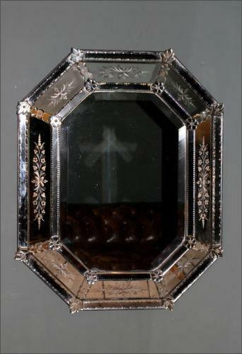 Antique Venetian Mirror Ebay