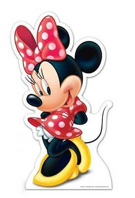 MINNIE MOUSE CLASSIC DISNEY LIFESIZE CARDBOARD CUTOUT / STANDEE / STANDUP Party](Classic Minnie Mouse Party Supplies)