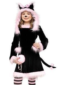 Girlsu0027 Black Cat Costume  sc 1 st  eBay & Black Cat Costume | eBay