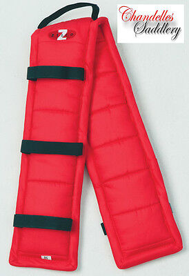 Zilco Driva Puffer Pad Red Carriage Driving Harness Saddle Pads Liner All Sizes