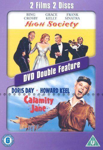 High Society + Calamity Jane New DVD Region 4