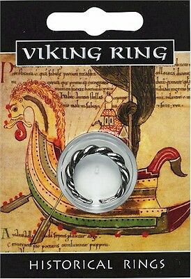 - Viking Twist Ring - Pewter