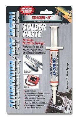 Solder It Alp-21 Aluminumpot Metal Solder Paste 7.1 Gram Syringe