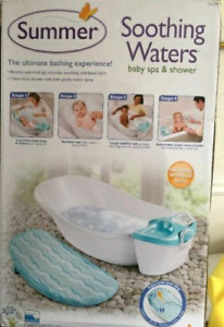 Summer infant Soothing  Waters 3 in 1 baby spa & shower.