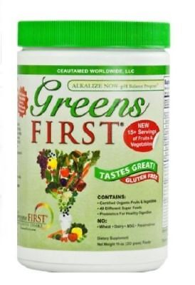 Greens First Powder Doctors For Nutrition Ceautamed - 10 Ounce New!