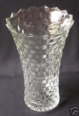 COLONY / INDIANA GLASS WHITEHALL LARGE FLARED VASE 10