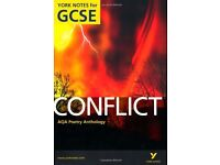 AQA Anthology: Conflict- York Notes for GCSE