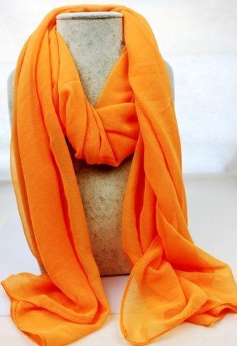 Orange Silk Scarf Scarves amp Wraps eBay