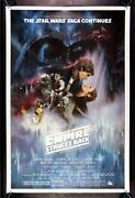 Empire Strikes Back Original Movie Poster