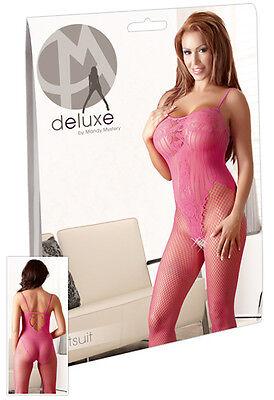 Mandy Mystery - Catsuit pink S-L - Damen Dessous Catsuits & Bodies