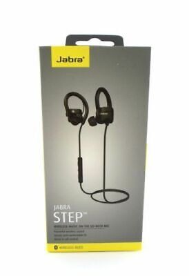 Jabra STEP Wireless / Bluetooth Stereo Earbuds Over-ear Headphones BOXED Black-