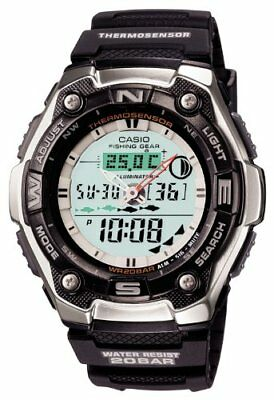 Casio Sports Gear Aqw 101J 1Ajf For Fishing Mens Watch From Japan Tracking