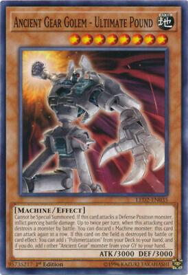 YUGIOH Ancient Gear Machine Deck Complete 40 - Cards