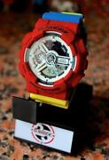 Casio G Shocks Red