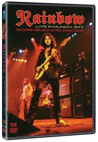 RAINBOW - LIVE IN MUNICH 1977 RICHIE BLACKMORE RONNIE JAMES DIO DVD R1/4