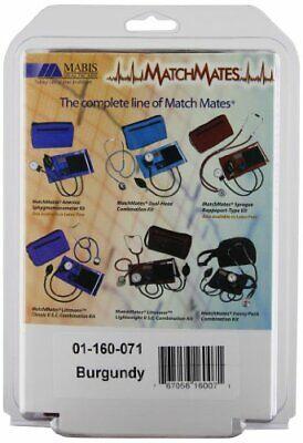 MABIS MatchMates Aneroids Sphygmomanometers Kit, Burgundy