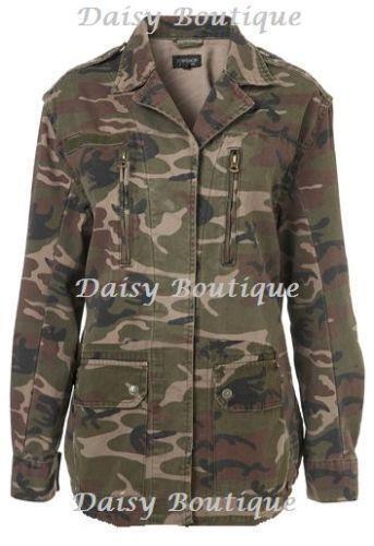 ec88e0031507b Topshop Camouflage | Coats & Jackets | eBay