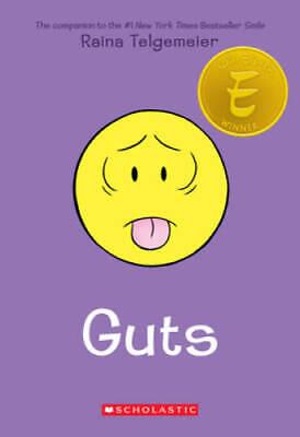 Guts - Paperback By Telgemeier, Raina - GOOD