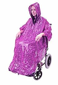 WATERPROOF WHEELCHAIR PONCHO : NEW IN BOX