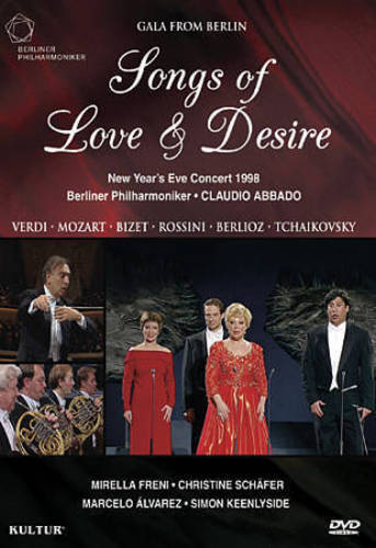NEW YEAR'S EVE CONCERT 1998: SONGS OF LOVE & DESIRE NEW DVD
