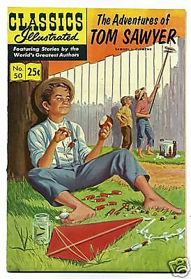ADVENTURES OF TOM SAWYER, THE # 50  HRN 169 WINTER 1971 STIFF COVER