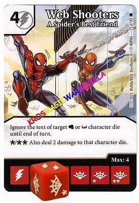 072 WEB SHOOTERS A Spider's best... - THE AMAZING SPIDER-MAN Marvel Dice (Best Spiderman Web Shooter)