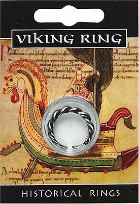 - Viking Pewter Twist Ring