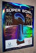 Super Bowl XLI Program