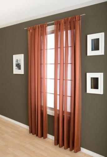 Terracotta Curtain Panels : Terracotta curtains ebay