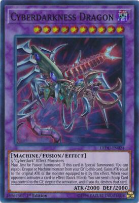 YUGIOH Cyberdark Deck w/ Cyberdarkness Dragon Cannon Horn Complete 41 - Cards