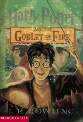 Harry Potter And The Goblet Of Fire - Paperback By Rowling, J.K. - GOOD