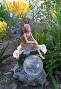 Outdoor Fairy Statue