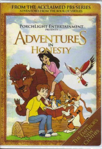 Adventures From The Book Of Virtues Dvd Ebay