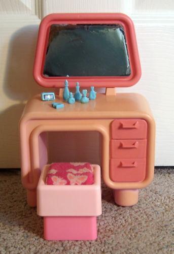 Vintage Barbie Vanity Ebay