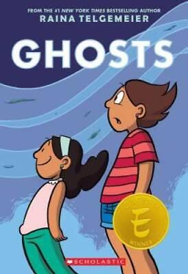 Ghosts - Paperback By Telgemeier, Raina - GOOD