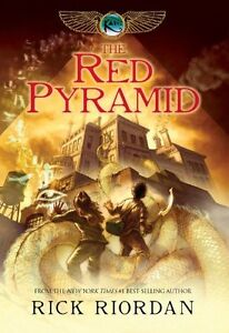 The Red Pyramid, Kane Chronicles, book # 1 - rare hardcover